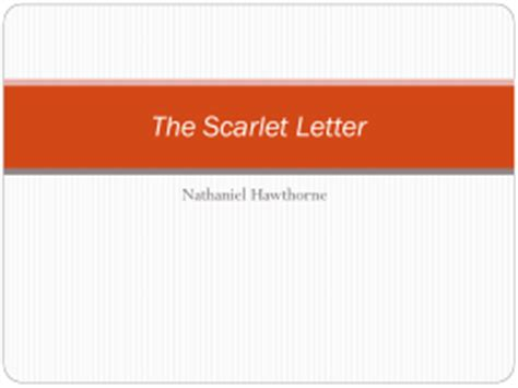 The scarlet letter essay on scaffold
